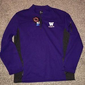 Washington Huskies 1/4 Zip Sweatshirt